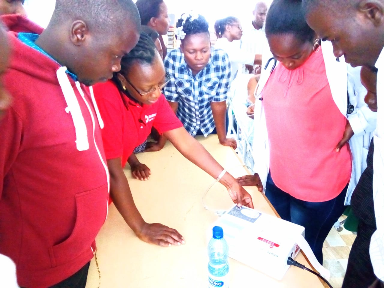 Desktop emergency care training in the Counties