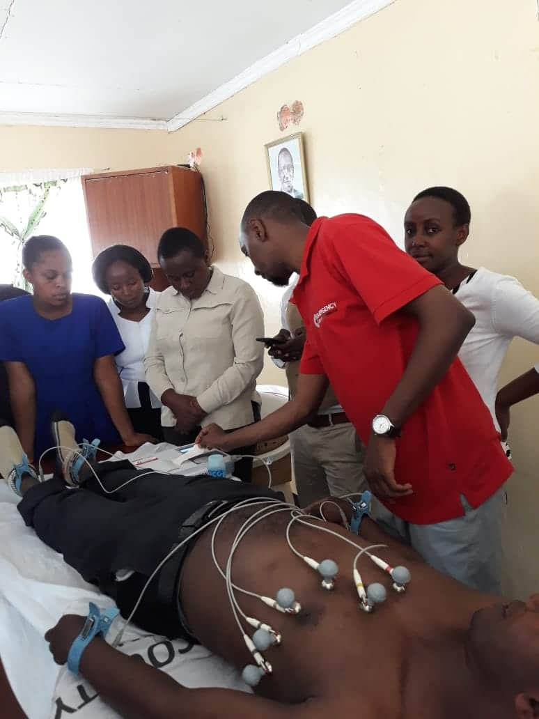 ECG Training in the Counties